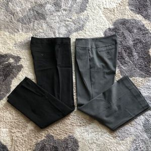Two pair of Express dress pants.